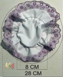 Tampa de tecido para pote (FRETE GRÁTIS)