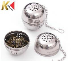 Infusor Coador de Chá  Para Kombuchá - Aço Inoxidável / Formato Arredondado (FRETE GRÁTIS)