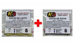 COMBO 1 - KEFIR DE ÁGUA + KEFIR DE LEITE