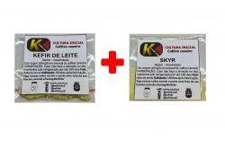 COMBO 14 - KEFIR DE LEITE + SKYR