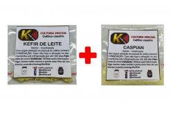 COMBO 13 - KEFIR DE LEITE + CASPIAN SEA