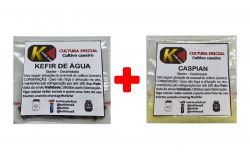 COMBO 11 - KEFIR DE ÁGUA + CASPIAN SEA
