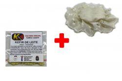 COMBO - Kefir de Leite + Tampa de tecido para COPO