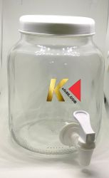 Kit Suqueira 2 Litros + Scoby Cilíndrico 6cm Com Líquido  + Infusor