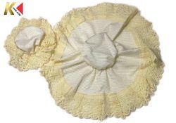Tampa de tecido para POTE +  Tampa de tecido para COPO (FRETE GRÁTIS)